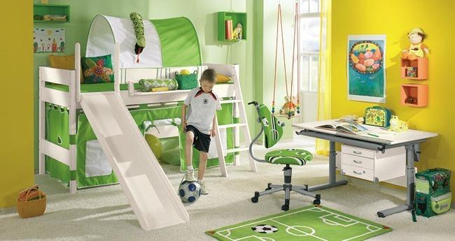 Načrtovanje in urejanje otroške sobe