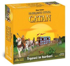 Naseljenci otoka Catan - razširitev Trgovci in barbari