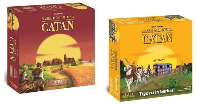 Vam je všeč igra Naseljenci otoka Catan?