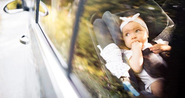 Nasveti za potovanje z majhnim otrokom