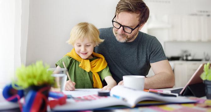 Učenje otroka samodiscipline